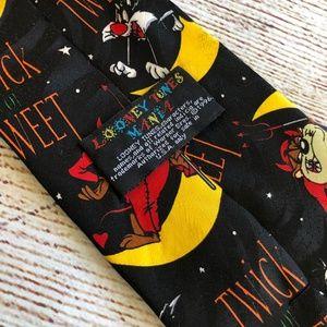 Looney Tunes Halloween Trick or Tweet NeckTie Tie